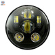 "5-3/4"" 5.75"" Round LED Projection Headlight Davidson motorcycle headlight 45w faro led 5 3/4"