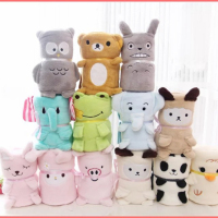 hot sale wholesale fleece blanket animal embroidered baby blanket Lovely, warm and light