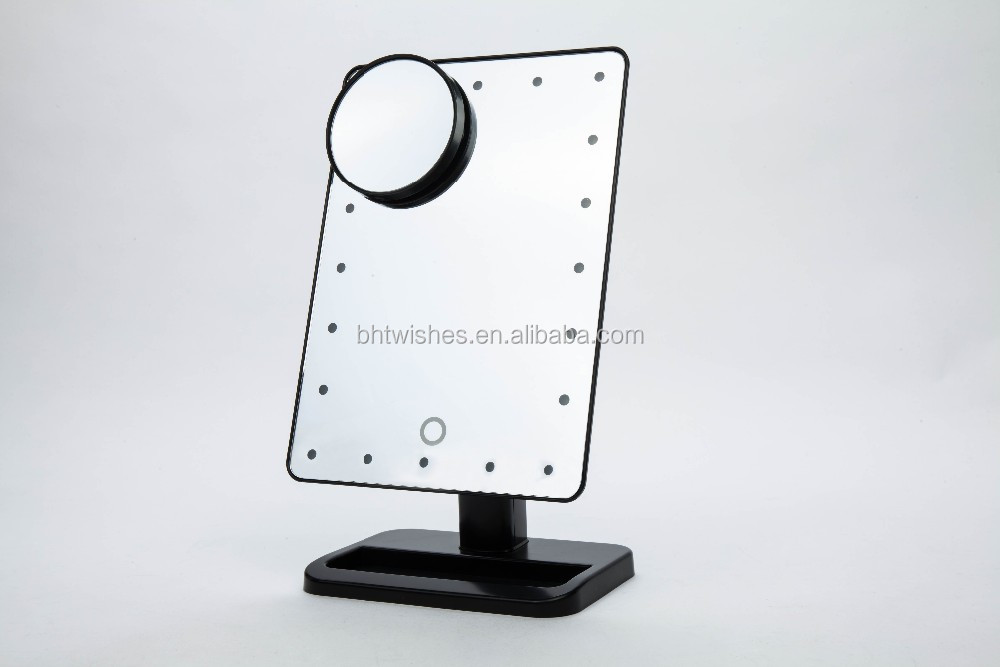 Dressing table mirror with led lights bht032 table lamp for Dressing table lamp lighting