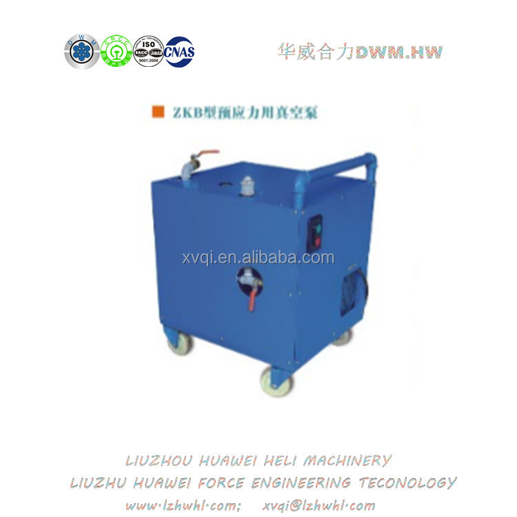 ZKB Type Post-tensioning Pre-stressing Vacuum Assisted Grouting Negative Pressure Forming Device Vacuum Pump
