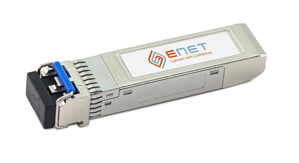 ENET Components | 10052-ENC | 1000BASE-LX SFP 1310nm 10km MMF/SMF OEM Compatible Transceiver, Lifetime Warranty Included