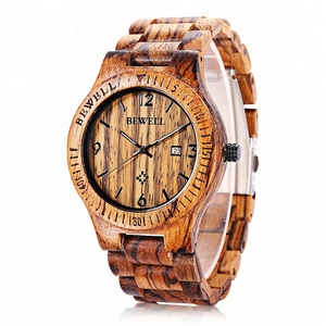 ODM Available Design Your Own Super Thin Minimalist Wood Watch