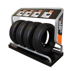 Metal Tire Display Rack
