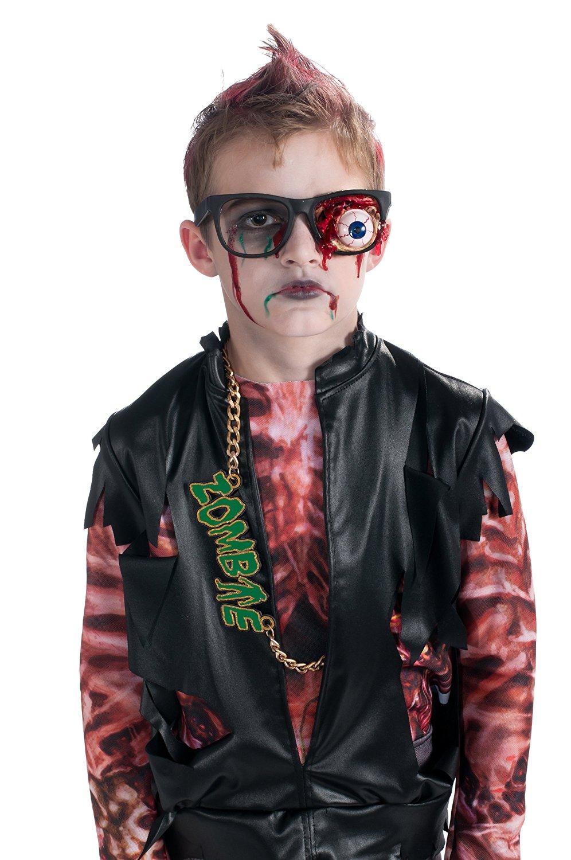 zombie prosthetic eyeball glasses costume accessory child
