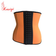 Orange corset 2015 Woman Fajas 3 Hooks Cheap Waist Training Corsets Wholesale