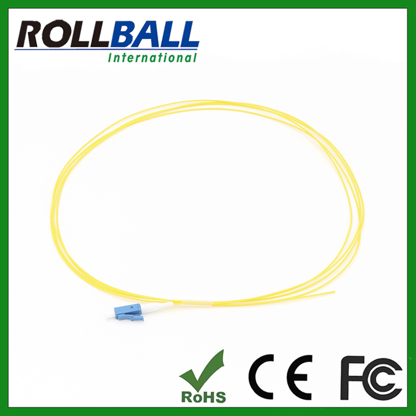 Indoor using lc fiber jumpers lc/pc 5m pigtail g657 fiber 0.9mm LSZH jacket