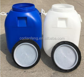 60 liter hdpe food grade plastic shipping barrels for sale