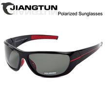 JIANGTUN Venda Quente Óculos Polarizados Óculos De Sol Dos Homens Do Esporte Ao Ar Livre Óculos de Sol Para A Pesca Condução Gafas de sol de Golfe Moderno Essencial