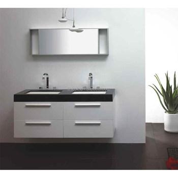 Commercial Double Basin Bathroom Vanity Foshan Bathroom Vanity Unit