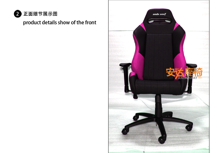 2015 New Design Game Racing Office Chair/Sport Car Seat Style Office Chair  SPO