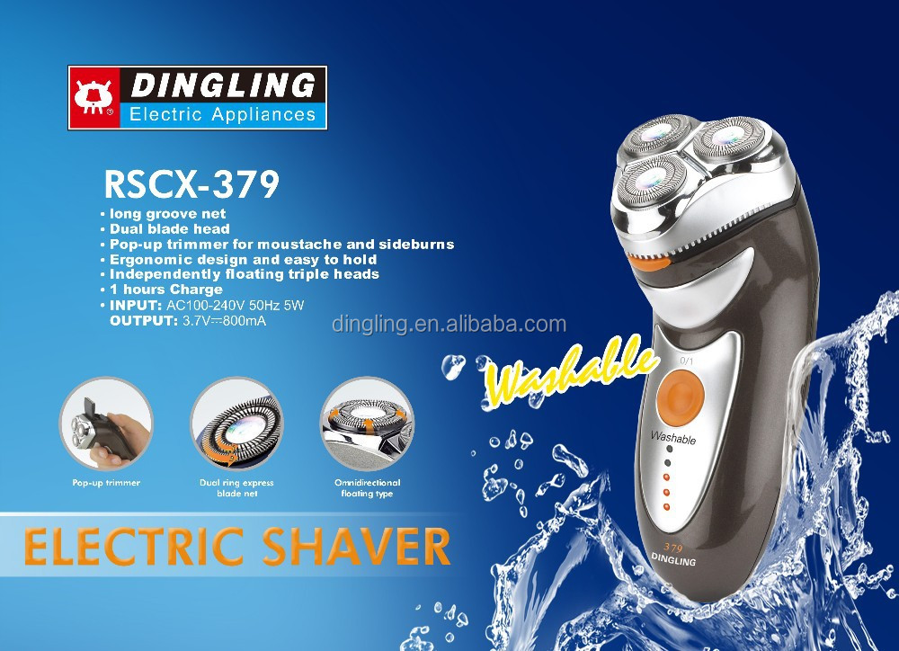 3-head Electric Shaver(rscx-379 )