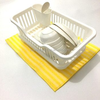 Stripe Microfiber Kitchen Counter Table Dish Drying Mat - Buy Kitchen  Counter Mat,Kitchen Table Mat,Dish Drying Mat Product on Alibaba.com