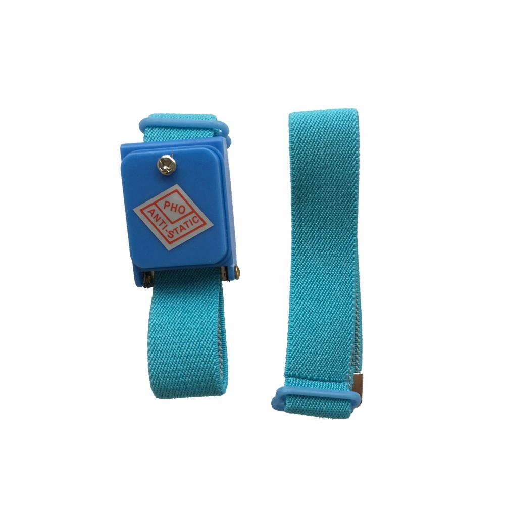 Power Tool Accessories New Anti Static Antistatic Esd Cordless Wrist Strap Band Blue Free Shipping Volume Large