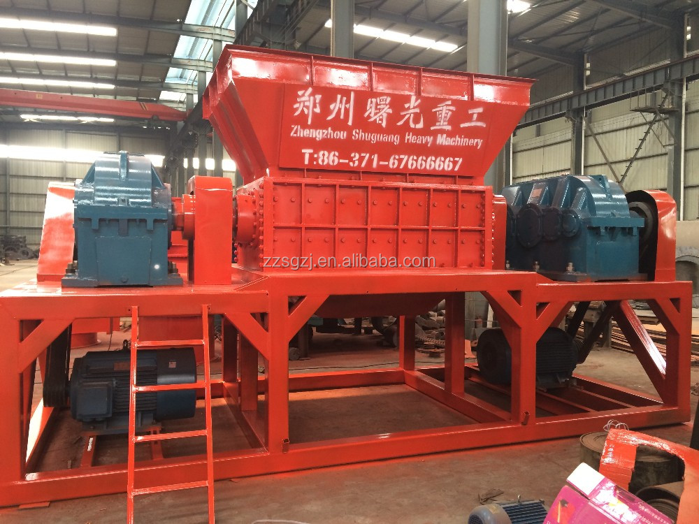 Environmentally Friendly Waste Tire Shredder/Tyre crusher/Tire Recycle Machine