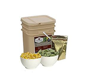 Wise Company Freeze Dried Vegetables and Gourmet Flavored Sauces-120 Servings, 33.8-Ounce