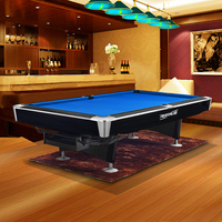 Solid Wood Black Slate 9' Pool Table High Quality