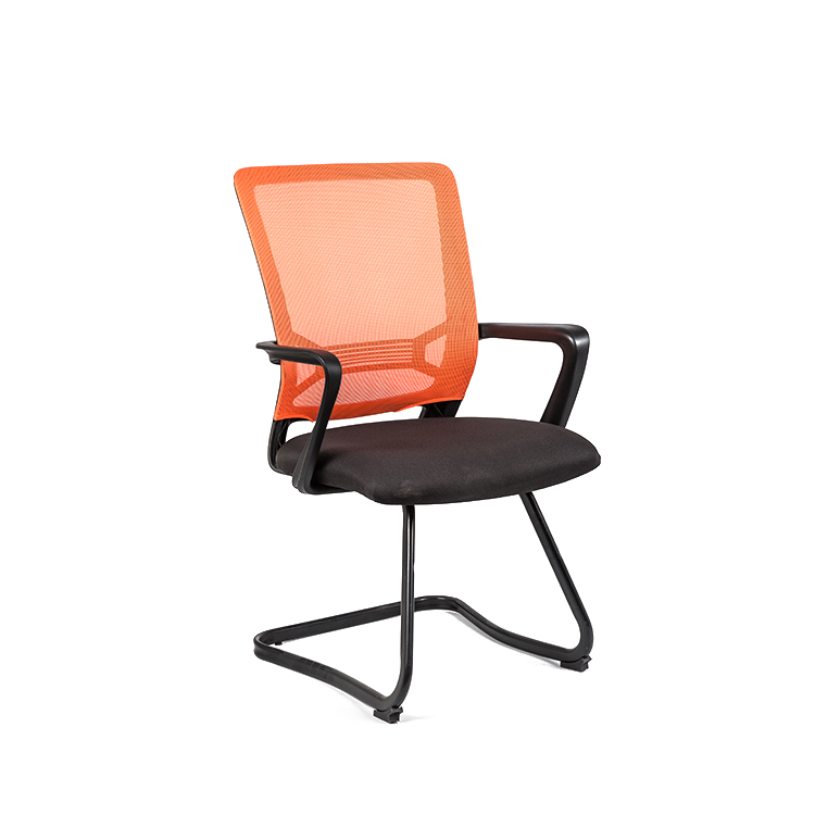Orange Computer Chair Deals With Desk Arm Low Price Armchair For Desk