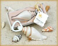 Unique Beach Wedding favors Sea Shell Bottle Opener