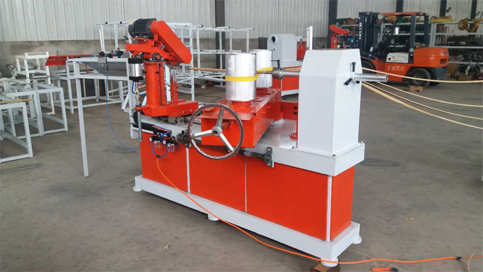 spiral paper tube forming machine