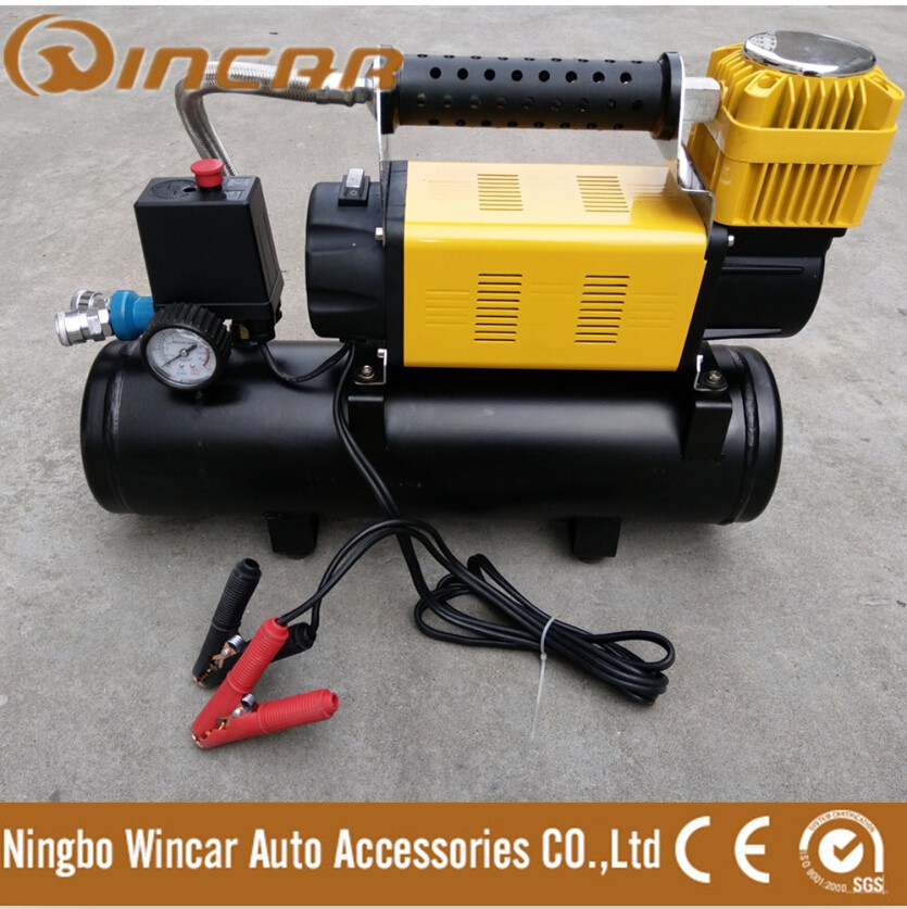 200L/min 200psi 12V Air compressor With Tank from WINCAR