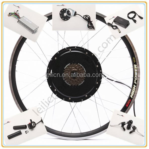 50km/h hub motor 1000w electric bike kit /electric wheelchair conversion kit