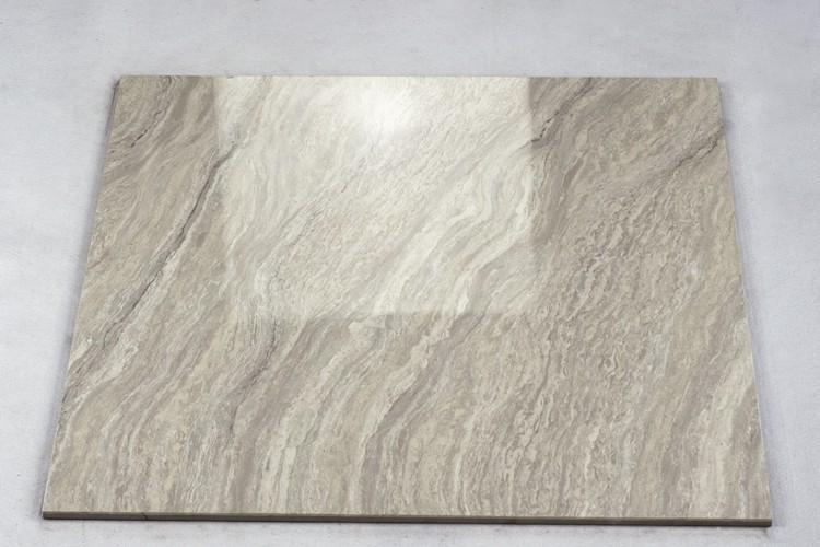 China Grey Ceramic Floor Tile Nano Polished Double Charge Vitrified Tiles