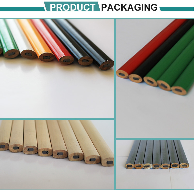Competitive price oval carpenter pencil for export