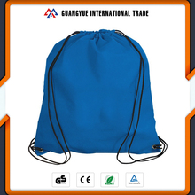 Guangyue Customized Logo Printed Promotion Cotton Drawstring Shoe Bags