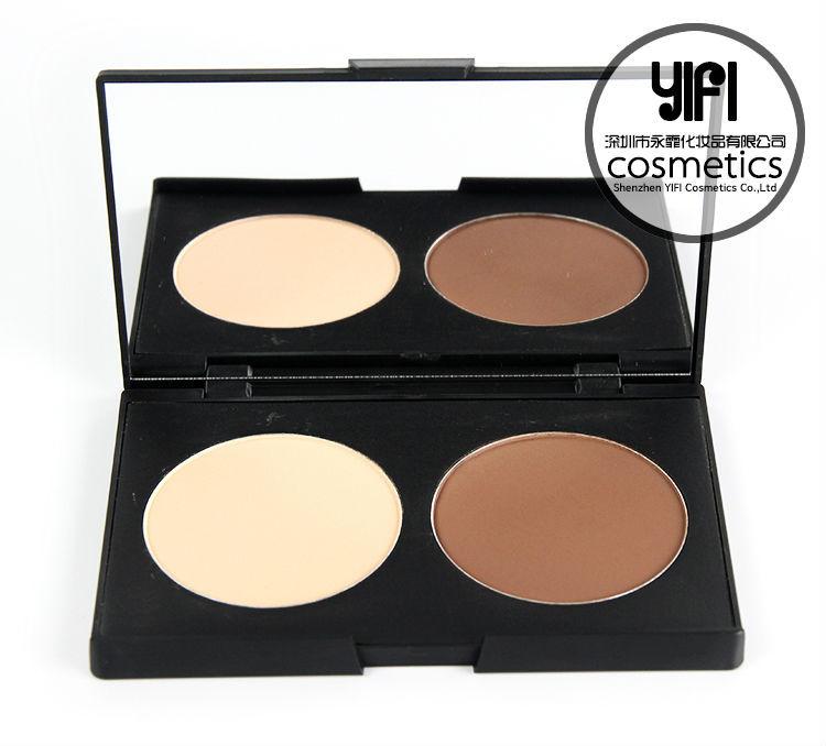Free Makeup Samples Cosmetics Face Powder 2 Colors Contour Kit ...
