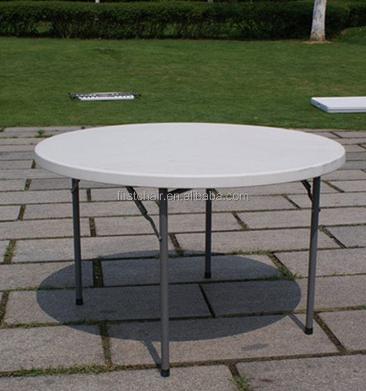 wholesale used white 6ft plastic round tables for sale
