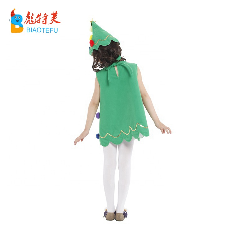 child christmas tree cosplay fancy dress costumes