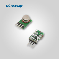 Small Non-code Radio Frequency 315/433mhz transmitter and receiver(KL9912)