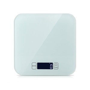 15 kg portable slim decorative electric digital tempered glass kitchen scale