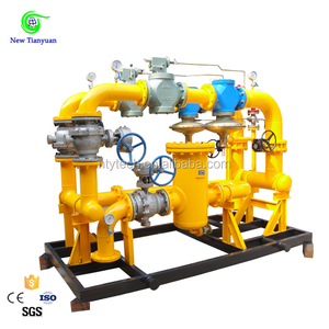 ISO Certificated Pressure Regulating Skid Mounted Unit Applying To Most Industry Gas