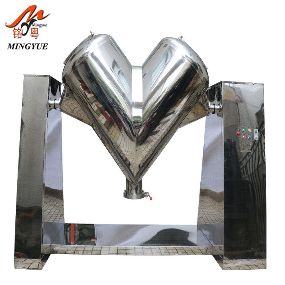 Factory Supplying Chilli Dry Powder Tumbler Mixer 10 Kg Machine