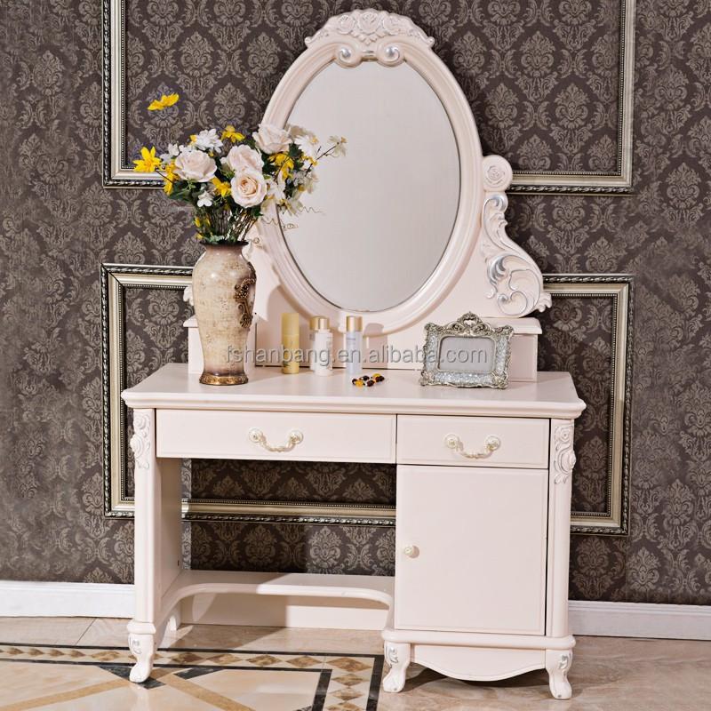 Diseño moderno blanco de marfil francés reposteria cheval espejo ...