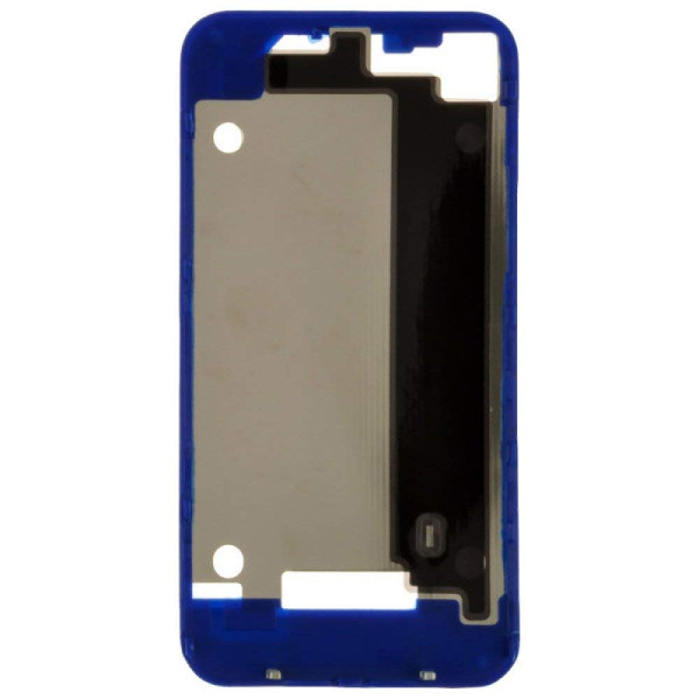 Door Frame for Apple iPhone 4 (GSM) (Dark Blue) with Glue Card