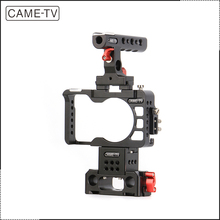 China CAME-TV dslr Camera Rigs With Handle Cage Baseplate For Sony A6300