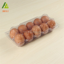 Clear transparent plastic PET PVC bulk egg cartons