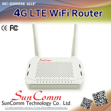 SC-2296M-4GF Affidabile connessione Router 4G LTE Coperta per <span class=keywords><strong>notebook</strong></span> e telefoni intelligenti