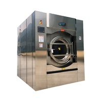 100kg large duty industrial automatic washing machine for hotel