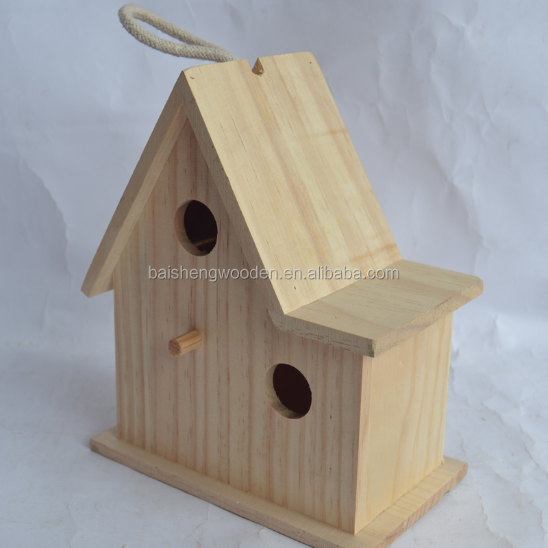 hot sale wooden bird house custom made wooden bird cage