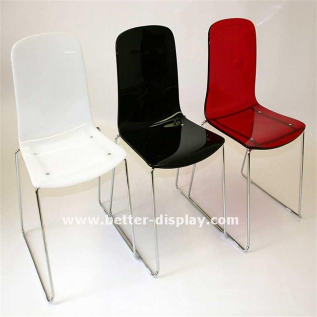 high quality modern acrylic chairs