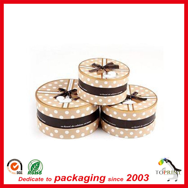 Cheap round paper food packaging aluminum foil box for food packaging box wholesale