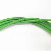 green atv synthetic winch line cable rope