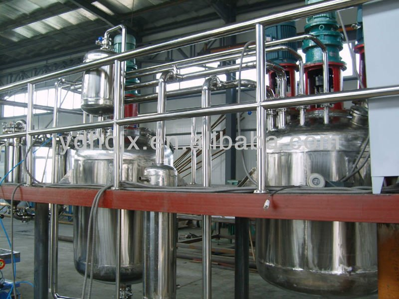unsaturated polyester resin reactor/production line