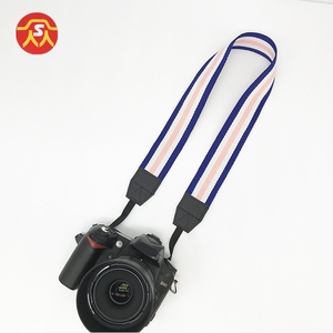 Fashion quality custom jeans fabric camera neck strap for DSLR