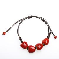 DIY bead wholesale color red crystal bracelet