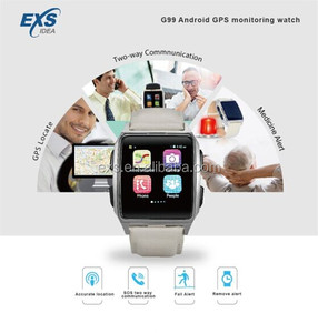SOS GPS 3g watch google play store app free download blood pressure fall alert android watch