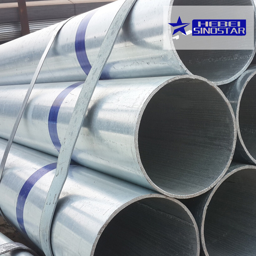 China manufacturer galvanized steel pipe 40cr steel specification